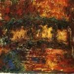 """""""le pont japonais"""" C.Monet pendant sa cataracte"""
