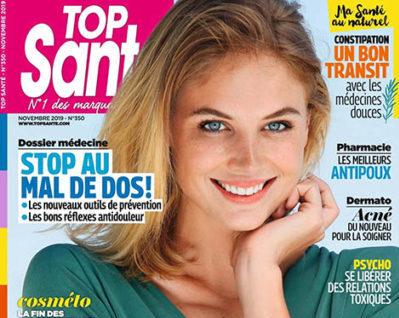 Top Santé Yoga des Yeux parution presse nov 2019