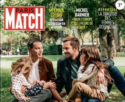 Paris Match article yoga des yeux