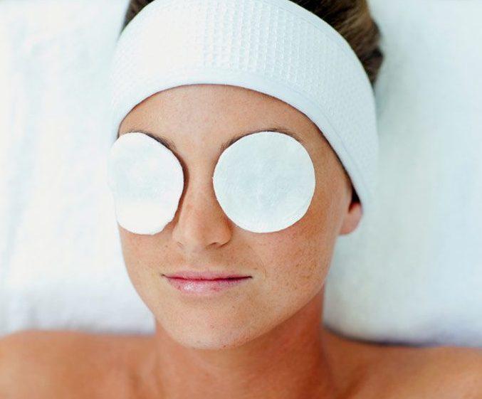 masque soulager le yeux