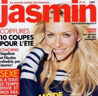 Jasmin magazine article yoga des yeux mars 2007