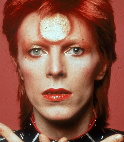 yeux mydriase David Bowie