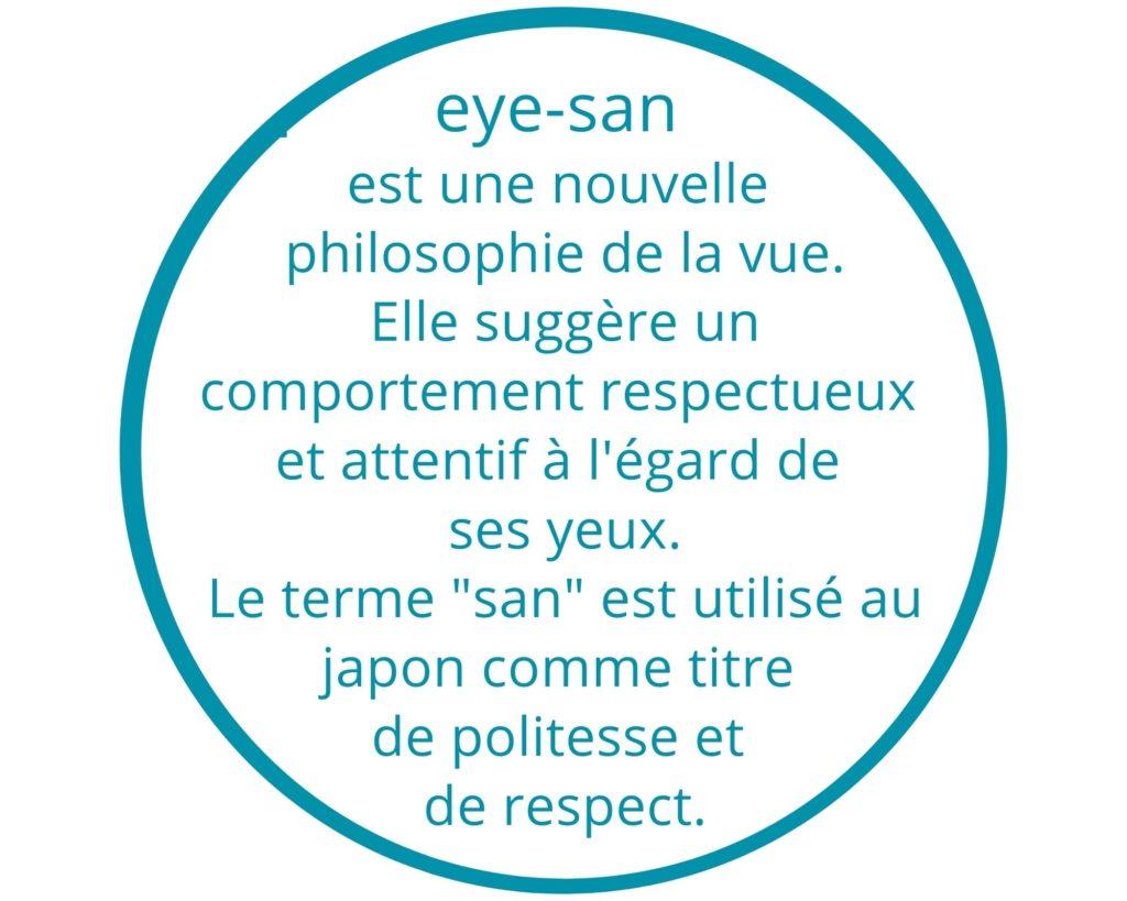 yoga des Yeux eye-san une nouvelle philosophie de la vue.