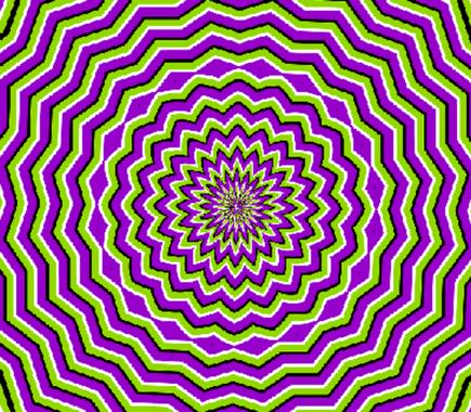 illusion optique Yoga des Yeux Eye-San